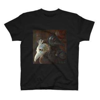 YOGENNOTORI  T-shirts
