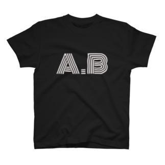 Ankle Break ロゴTシャツ(ホワイトロゴ) T-shirts