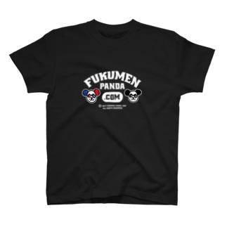 覆面パンダ夫婦Tシャツ(Bver)16色 T-shirts