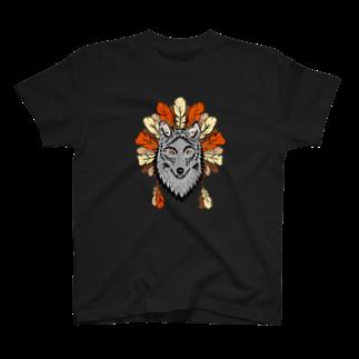 ネイティブ柄専門ショップのネイティブ柄D T-shirts