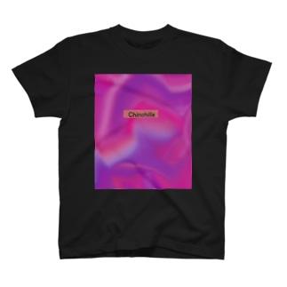 タイダイ チンチラ T-shirts