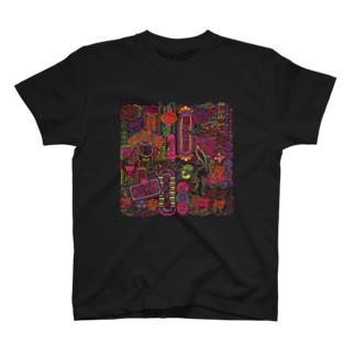 アジアンネオン T-shirts