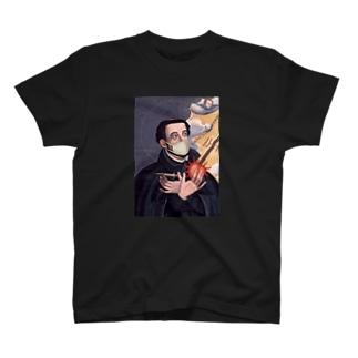 マスク ザビエル T-shirts