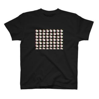 かしわブタがいっぱい T-shirts