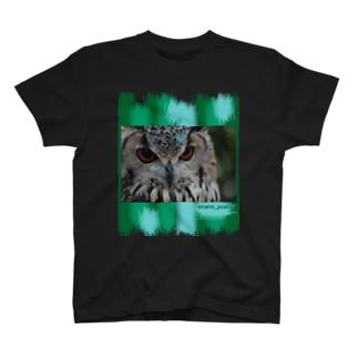 ふくろう -渋- T-shirts
