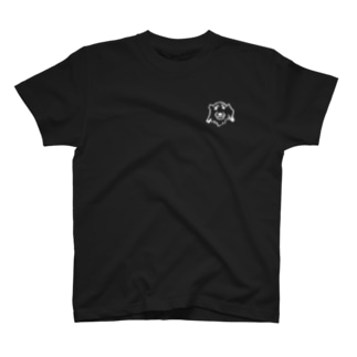 YUTAO art 胸元にダックスフント T-shirts