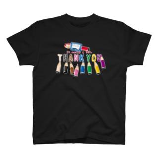 CT155 ちびた色鉛筆*B T-shirts