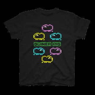 MORPHEUS&もんぺのカラフルモルドット T-shirts