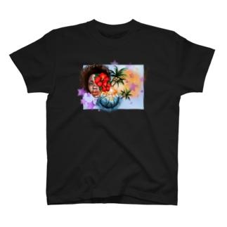 Basketball fullcolors (濃色) T-shirts