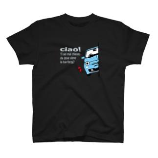 ひょっこりあばちん sr3 アズーロ  T-Shirt