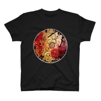 flower Tシャツ T-Shirt