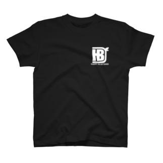 ダックロゴ白デザイン T-shirts