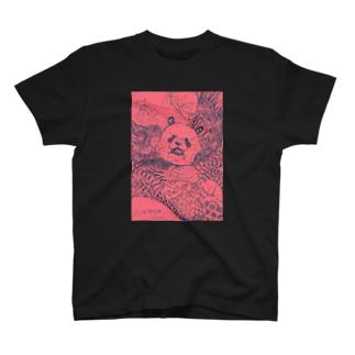 邪神パンダさん T-shirts