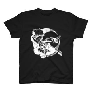 BOY IN NEAR FUTURE(白) T-shirts