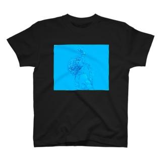 気泡 T-shirts