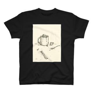 コーヒーカップ T-shirts