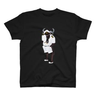 ヌー船長 Captain gnu T-shirts