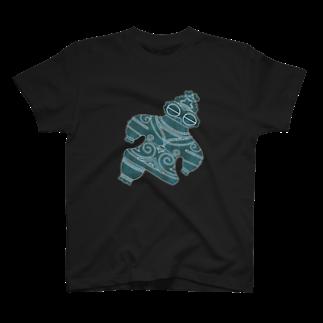 Second Wildlifeの遮光器土偶ナナメ T-shirts
