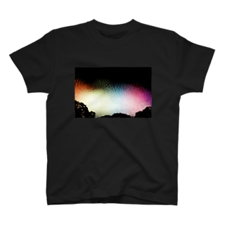 Colorful Fireworks T-shirts