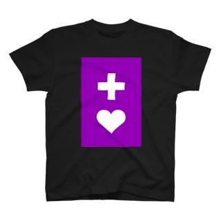 多摩市民のヘルプマーク風 T-Shirt