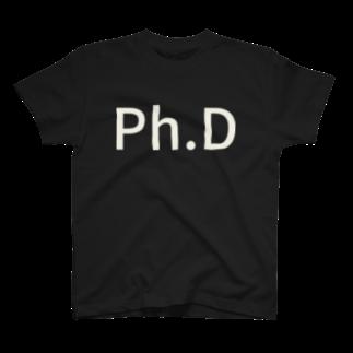 kenchanのPh.D T-shirts