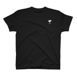 オブラートの色んなやつの店のoblaat白ロゴ T-shirts