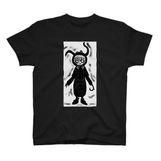 エイリアン娘 T-shirts