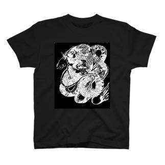降龍02_右向き T-shirts