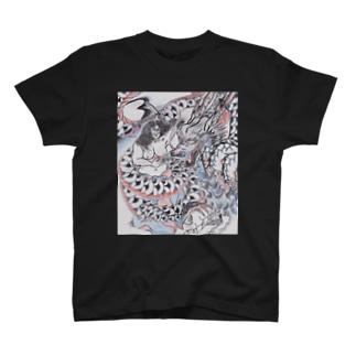 龍と海女 T-shirts