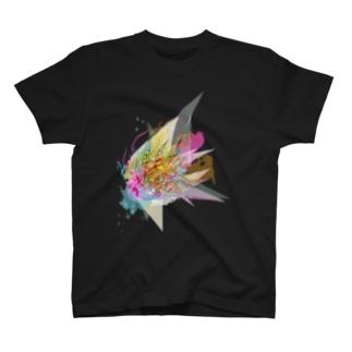 アーティスティック×トライバル~ピンク~ T-shirts