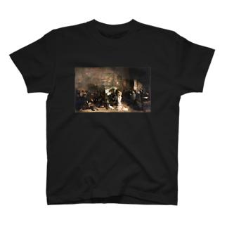 ギュスターヴ・クールベ(画家のアトリエ)のグッズ T-shirts
