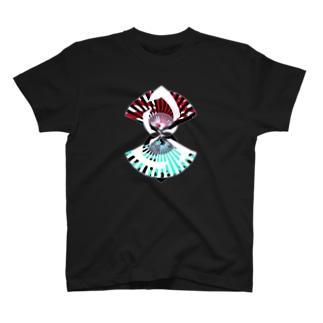 扇扇桔梗 T-shirts
