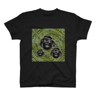 サイケデリックグラフィック・ふぃんいち T-shirts