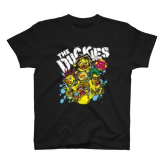 THE DUCKIES - Quack Punk Droogs - T T-Shirt