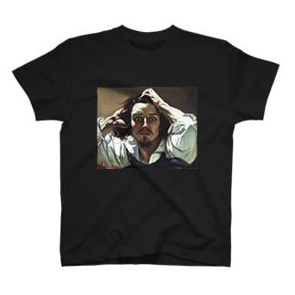 ギュスターヴ・クールベ「絶望」 グッズ T-shirts