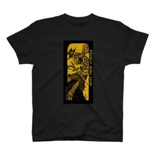 ペスト医師(黄色) T-shirts