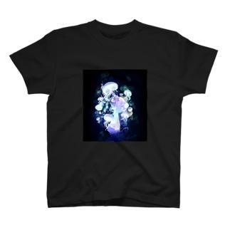 ガスマスクラゲ T-shirts