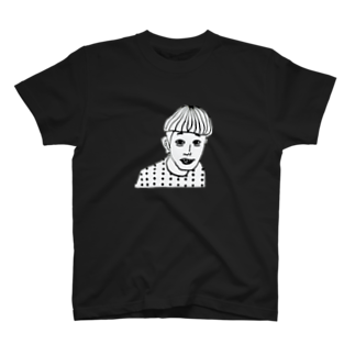 0401mのWho is HE T-shirts