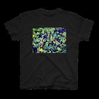 mischiefのハッパ T-shirts