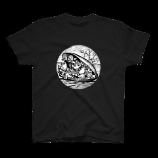 有明ガタァ商会のムール貝 T-shirts