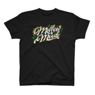 MELLOW MOOD【濃色ベース】 T-Shirt