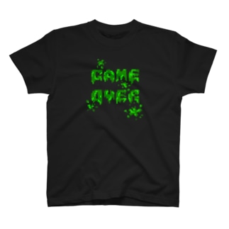 GAME OVER(Zombie) T-shirts