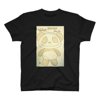 イエローパンダ スマイルのイエローパンダスマイル T-shirts