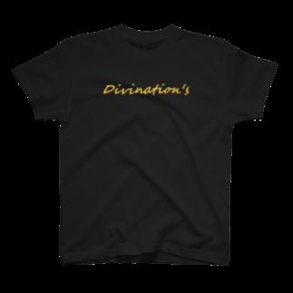SuntauyoのDivination's ロゴ T-shirts