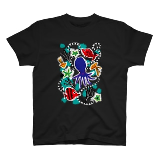 タコさんと踊ろう T-shirts