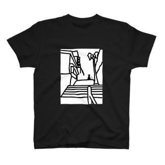 石階段を登る T-Shirt