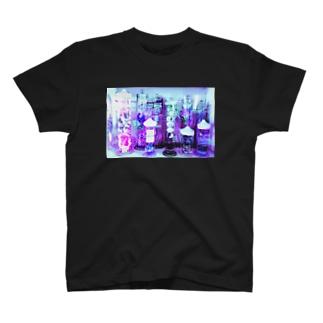 紫なホルマリン漬け T-shirts