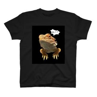 おしゃれなトカゲ T-shirts