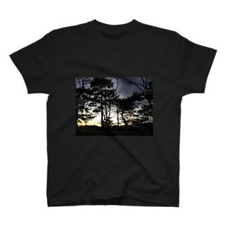 シックな景色 T-shirts