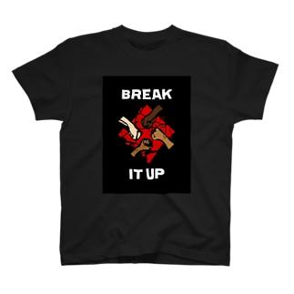 Bobby Hundreds [BREAK IT UP] T-shirts